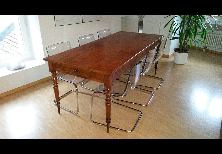 Table de ferme Louis Philippe - au péché du mobilier